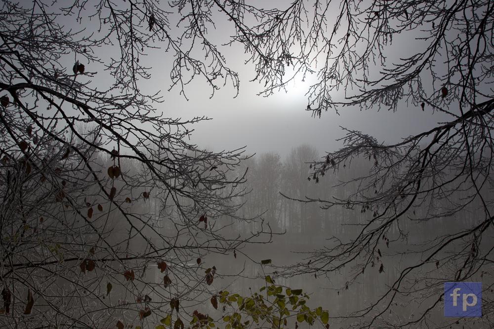 Noch dominiert der Nebel.