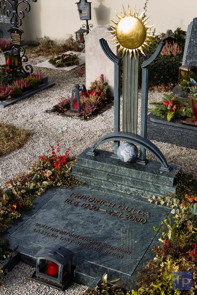 Friedrich Gulda: sein Grab in Steinbach a.A.