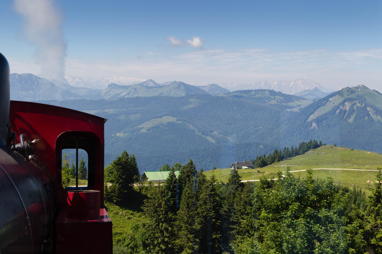 Dampfbahn zum Schafberg